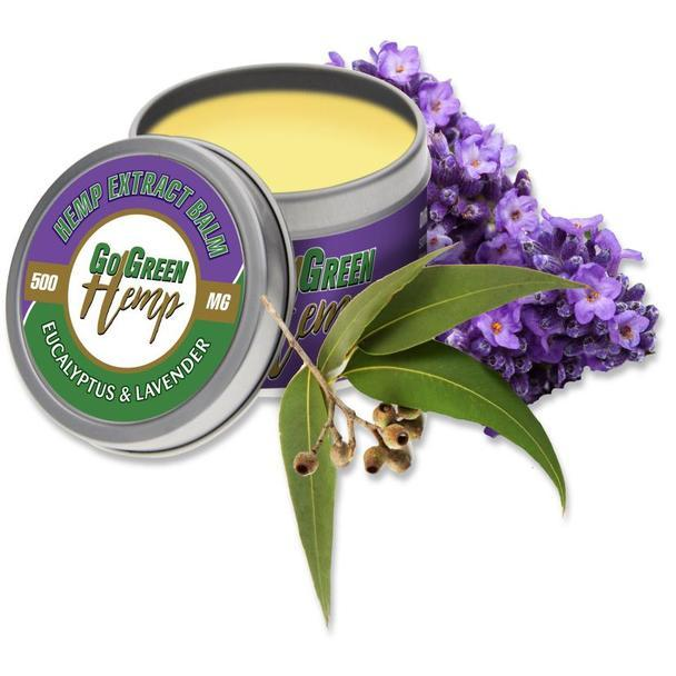 Eucalyptus and Lavender CBD Salve