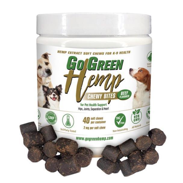 GoGreen Hemp CBD Dog Chews