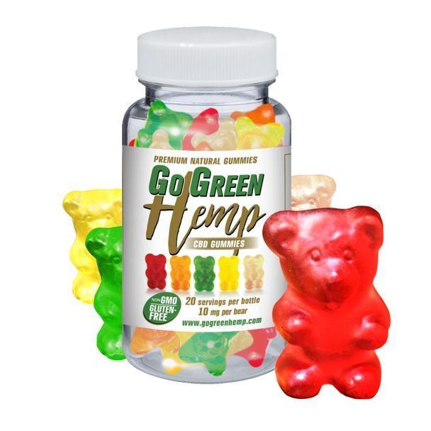 GoGreen Hemp Gummy Bears