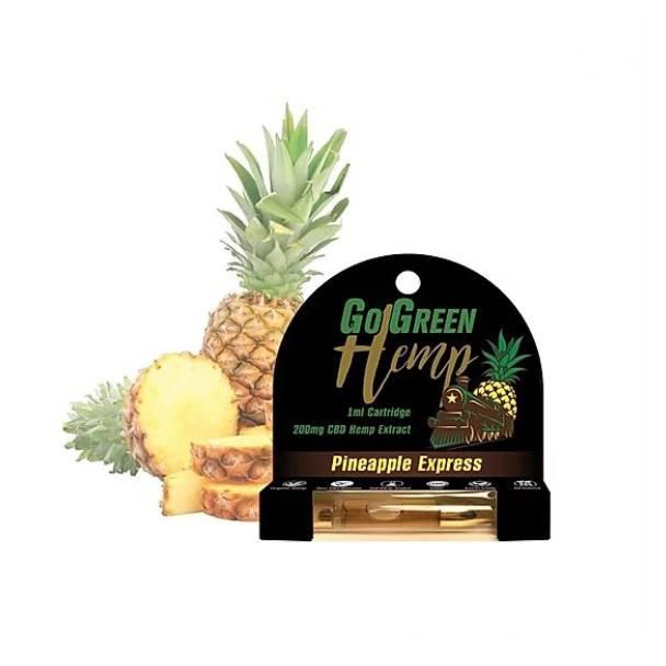 GoGreen Hemp CBD Pineapple Express