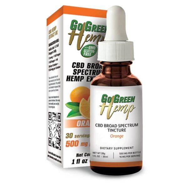 GoGreen Hemp Orange Tincture
