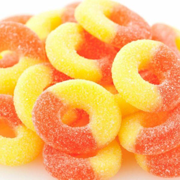 Delta 8 THC Peach Rings