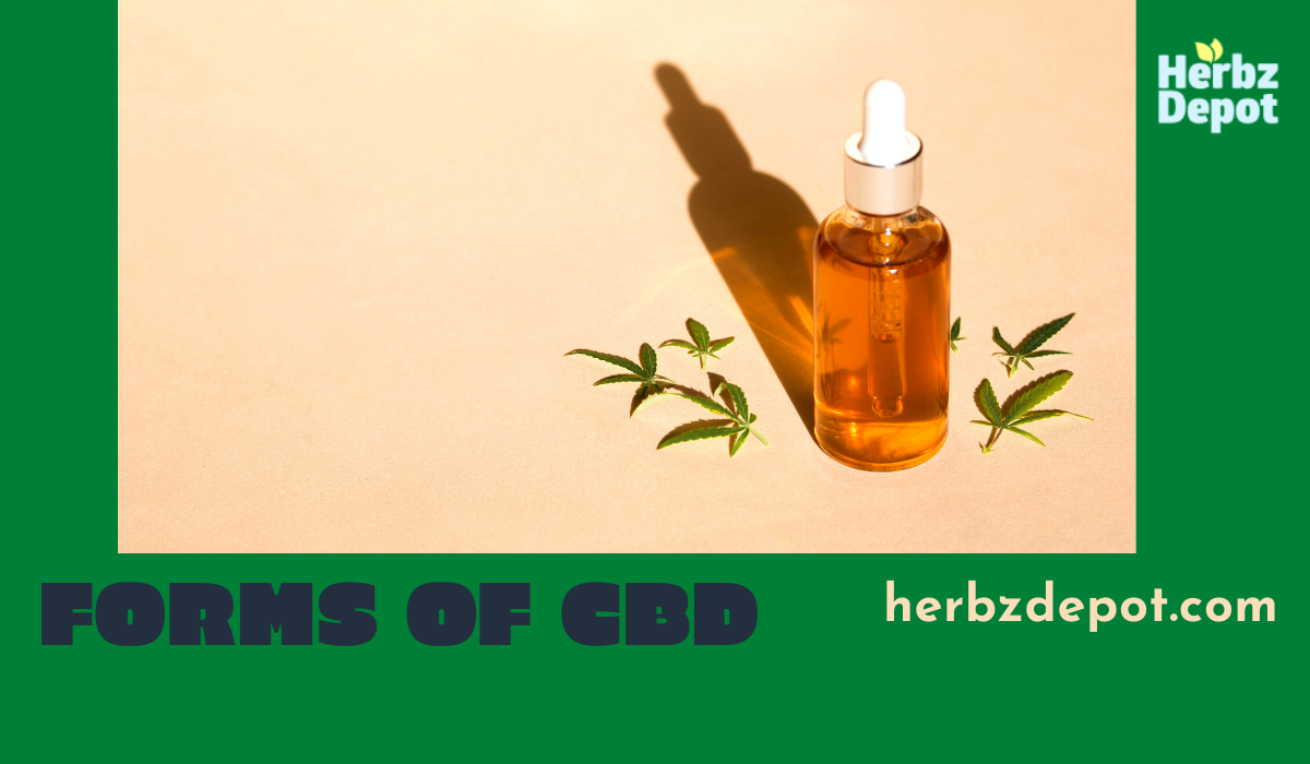 What forms of CBD can you buy?