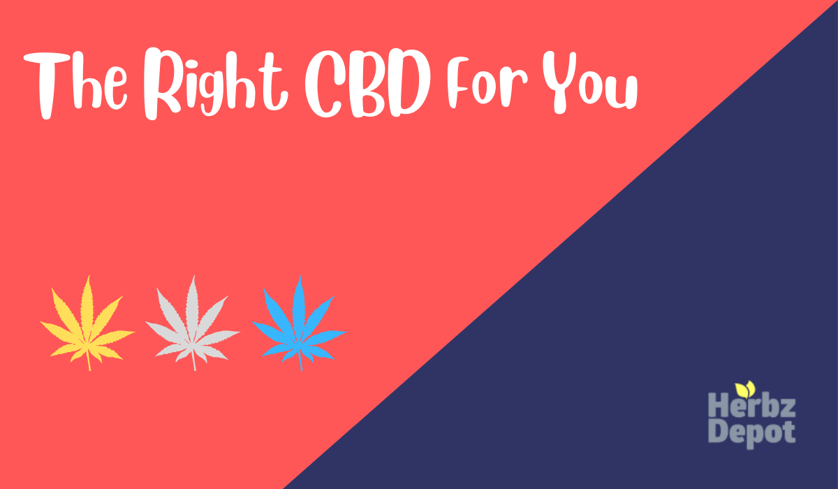 Which CBD Is Right For Me?