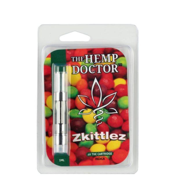 """The Hemp Doctor Delta 8 Vape Cartridge """"Zkittlez"""""""